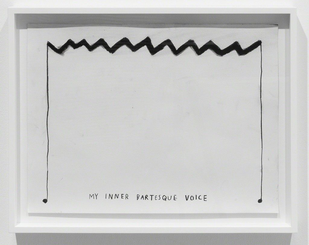Christine Sun Kim, 'My Inner Bartesque Voice', 2015