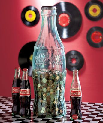 Aug 26, 2015 Buy 24 CLASSIC COCA COLA BOTTLE BANK Model: by COCA COLA: Decorative Bottles -  FREE DELIVERY possible on eligible purchases