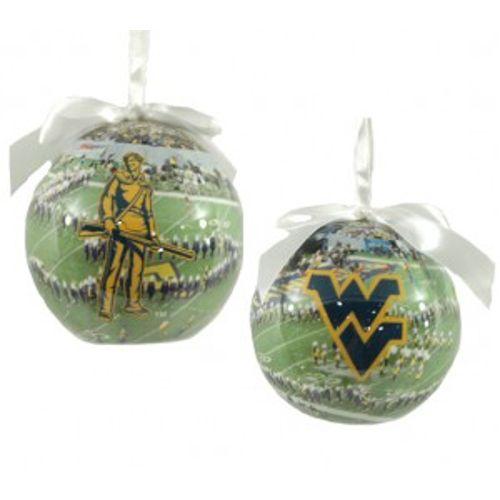 west virginia christmas ornaments   West Virginia Mountaineers - College Christmas  Ornaments - NCAA . - West Virginia Christmas Ornaments West Virginia Mountaineers