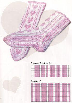 Всем,кто вяжет,дарю старые идеи для новых работ: Носки