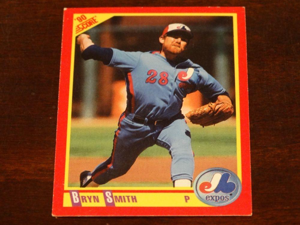 Montreal Expo's Baseball Card Bundle 2 8 Cards Expos