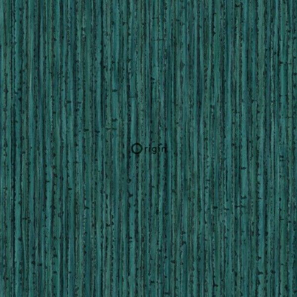 347403 papier peint intiss co texture impression la soie bambou vert meraude chambre. Black Bedroom Furniture Sets. Home Design Ideas