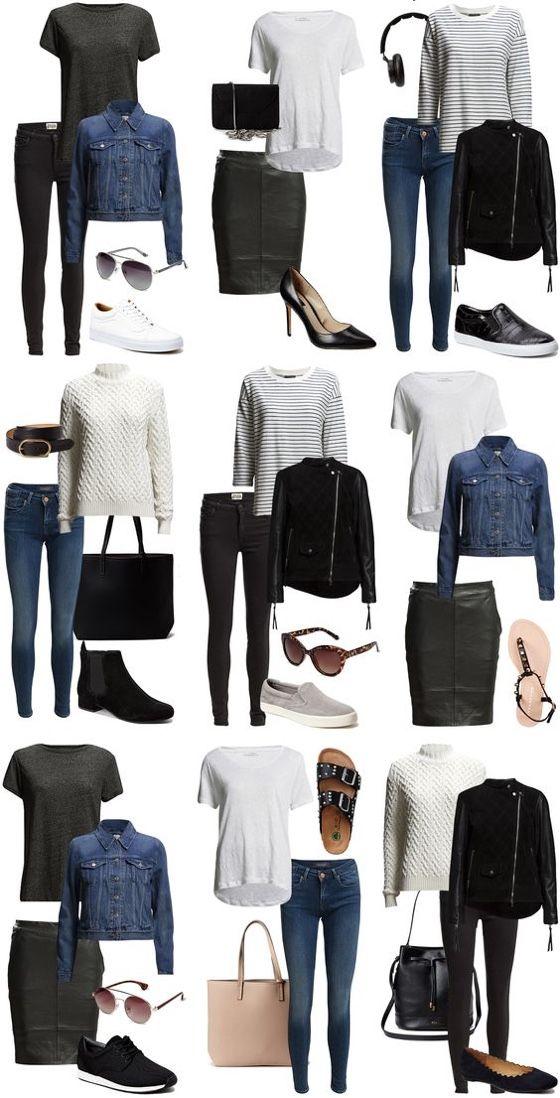 Peças essenciais que não podem faltar no guarda roupas