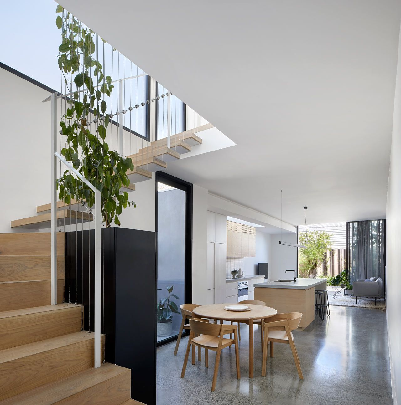 10 Small House Interior Design Solutions: A Modern Addition To A Workers' Cottage In Melbourne