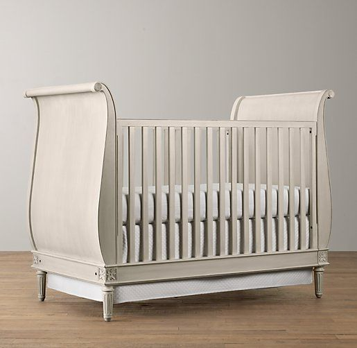 Emelia Sleigh Crib | Cribs U0026 Bassinets | Restoration Hardware Baby U0026 Child Pictures
