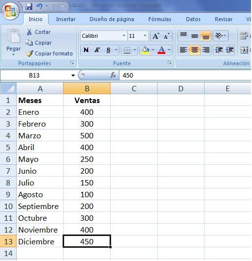 Hacer Un Gráfico En Excel Facilmente Tecnologias De La Informacion Y Comunicacion Hojas De Cálculo Libros De Informatica