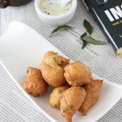 Mangalore Bajji / Golibaje Indian tea time snack I