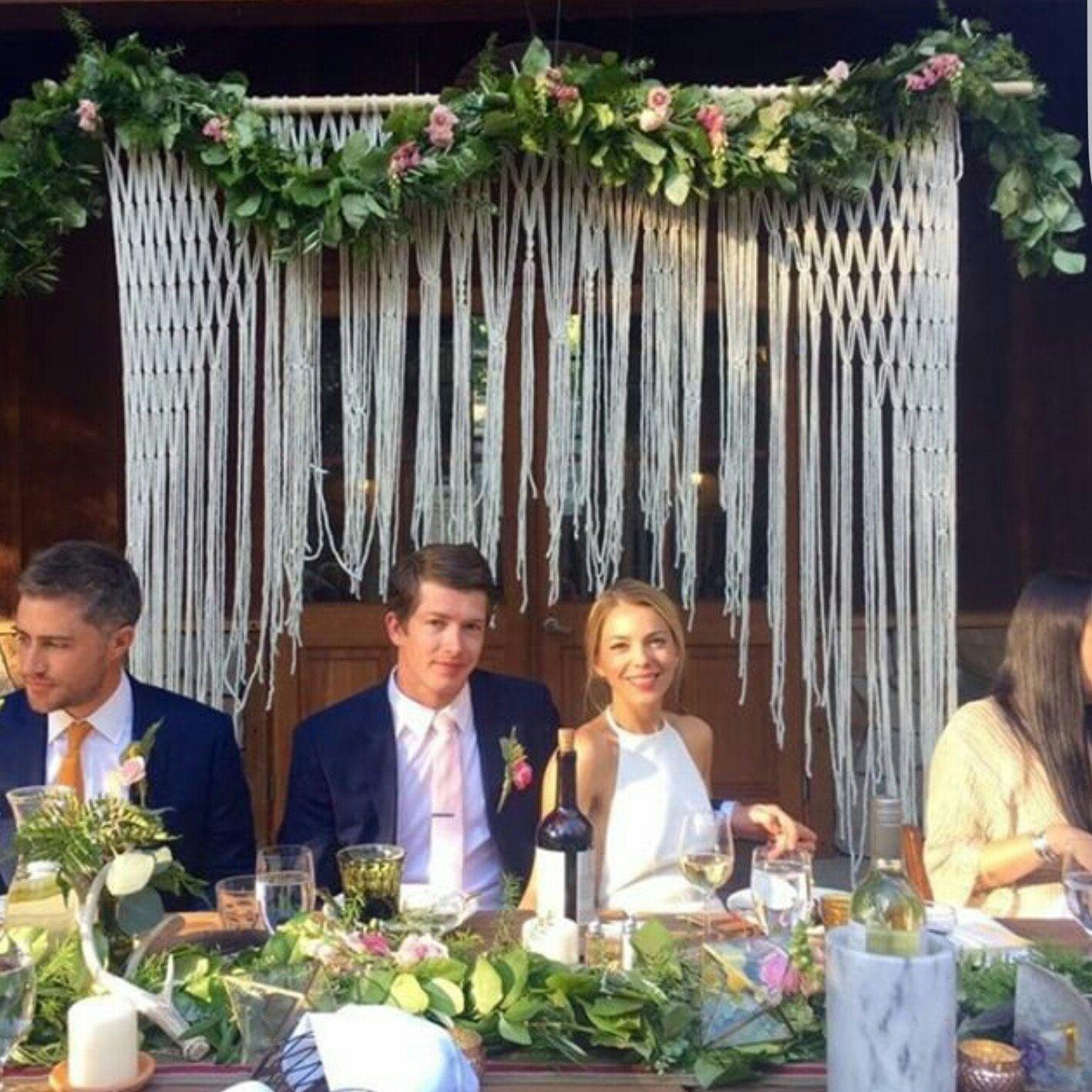 Altar Wedding Cars Timperley: Boho Wedding Hanging For Wedding Decor On Arbors And