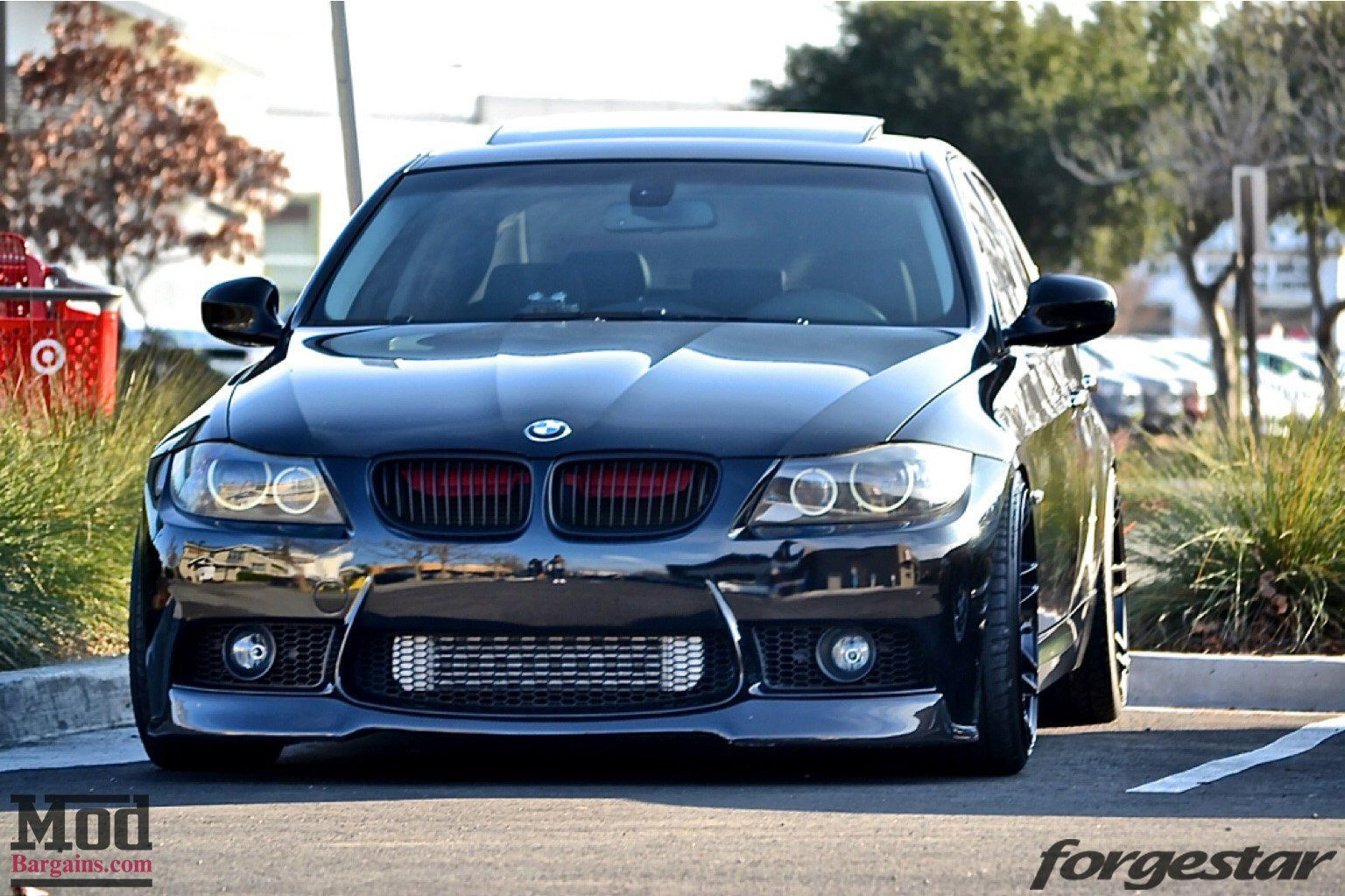 With Its E90 M3 Style Front Bumper Paired With A V Style Carbon