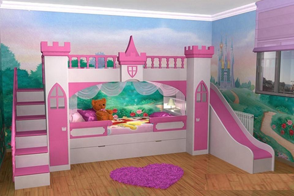 Objetos locos camas divertidas para ni os castillos - Literas infantiles divertidas ...