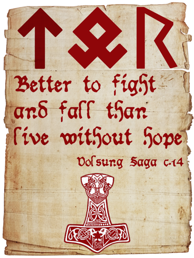 Viking Love Quotes ☆ Viking Quote 3 ¦Skaldicproductions ☆  Nordic Heretige