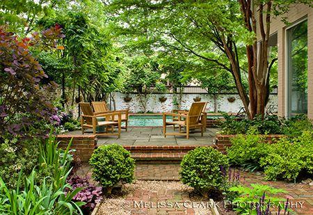 A Thomas Church Garden In Dc Garden Design California Garden