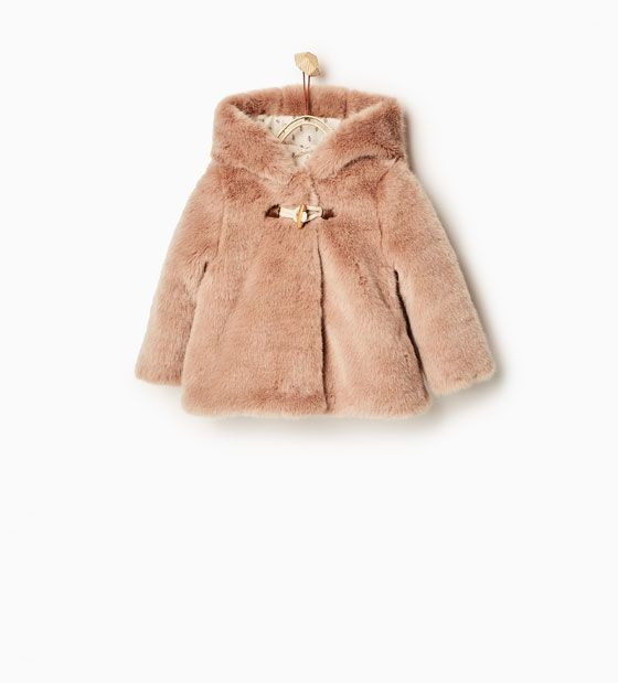 Vicbovo Toddler Baby Girl Cute Faux Fur Bear Ear Hoodie Coat Jacket Thick Clothes Outwear