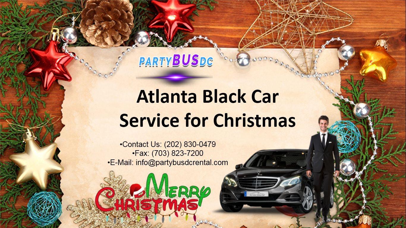 Atlanta Black Car Service for Christmas Party bus, Party