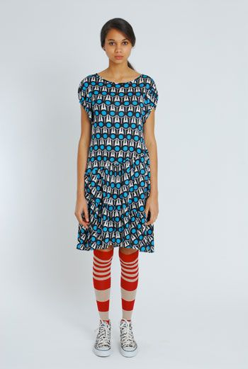 Love this eley kishimoto combination of patterns and colours!