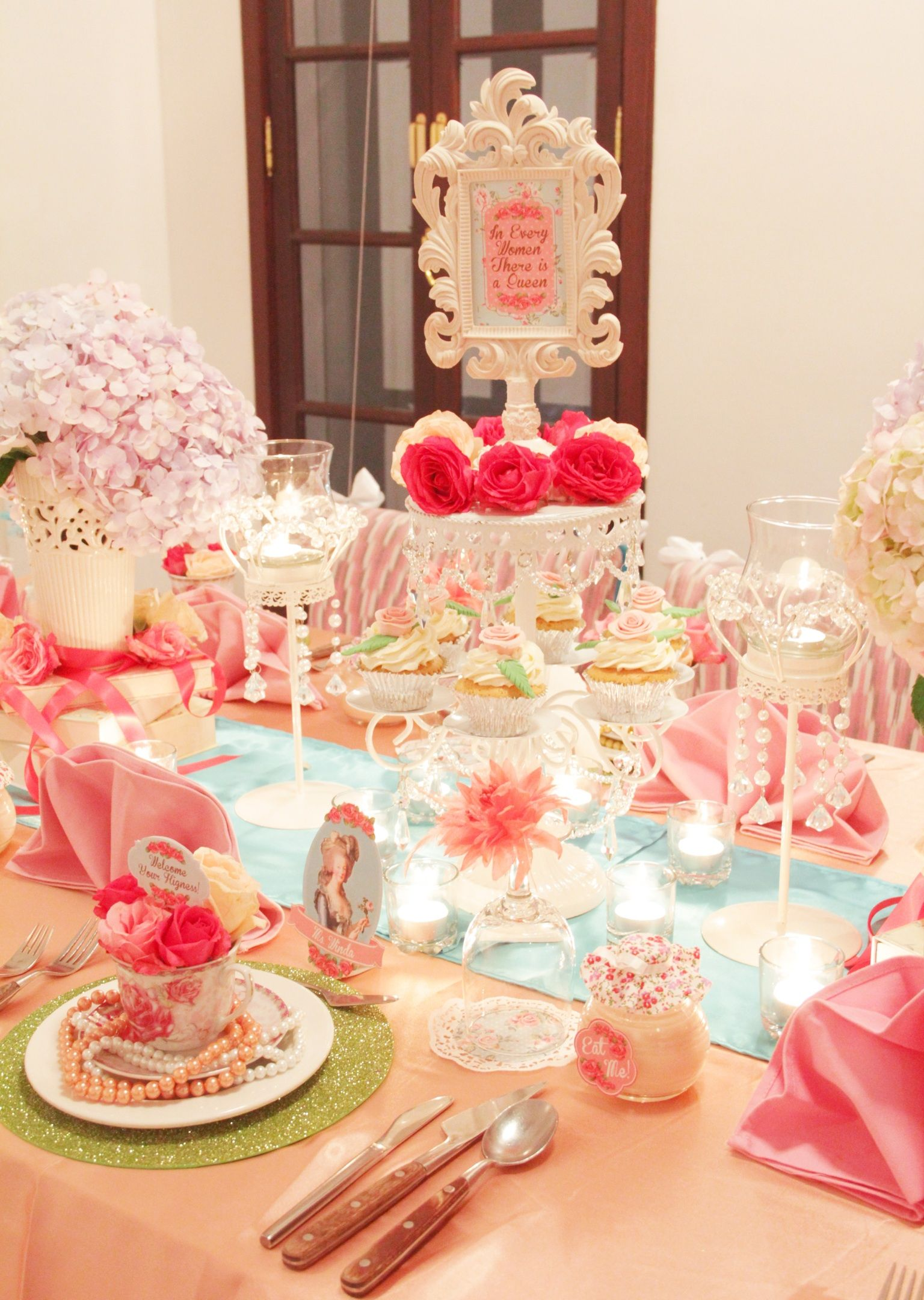 Marie Antoinette Themed Party Party Decoration