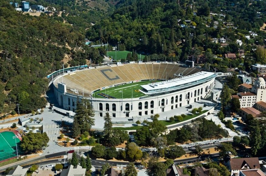 Uc Berkeley Memorial Stadium Simpson Center Lacrosse Camp Studios Architecture Best Architecture Schools