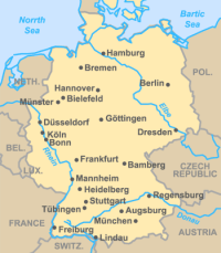 River Map Of Germany.River Map Of Germany Google Search Germany Pinterest