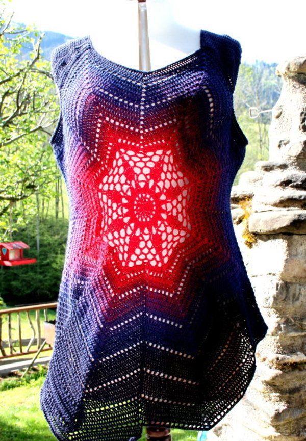 Beautiful Häkeln Motivmuster Ornament - Decke Stricken Muster ...