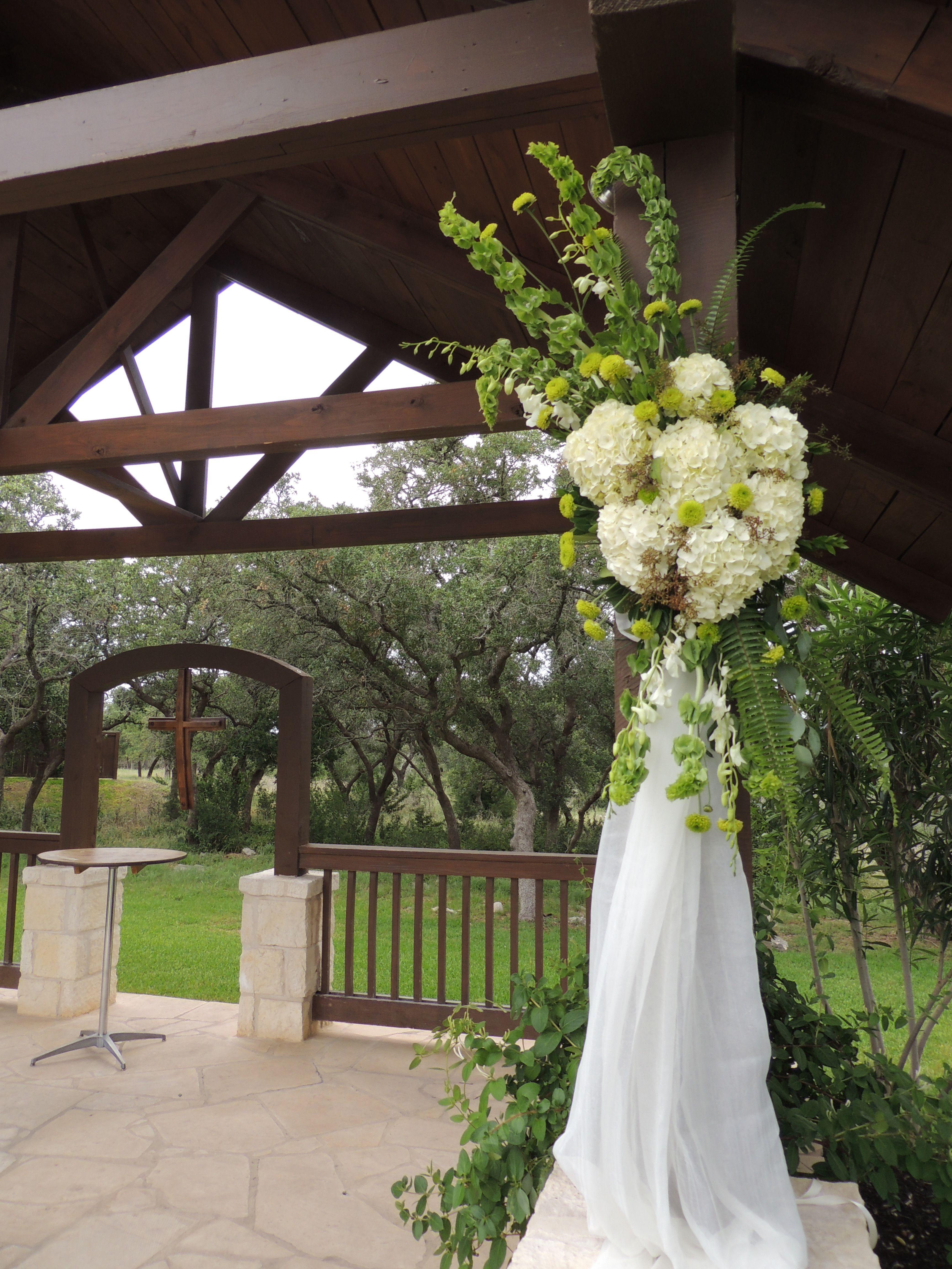 interesting wedding venues ireland%0A Outdoor wedding  Ceremony decor  Gazebo decor  Lime green  Mum