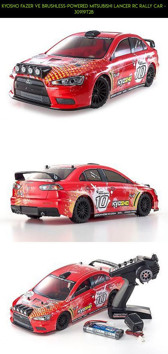 Kyosho Fazer Ve Brushless Powered Mitsubishi Lancer Rc Rally Car