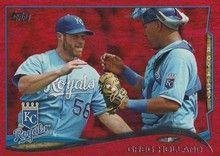 2014 Topps Baseball Red #617 Greg Holland - Kansas City Royals