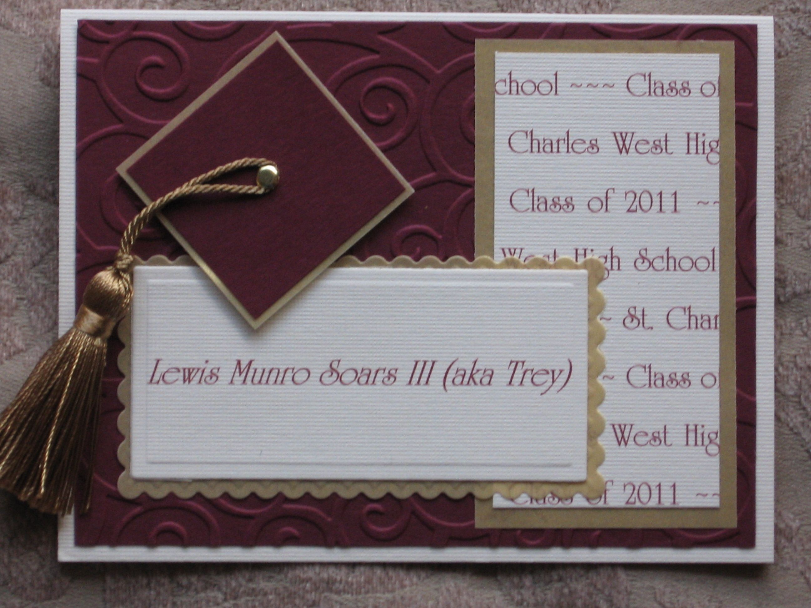 Graduation Announcement Birthday Card – Graduation Invitations Templates 2011