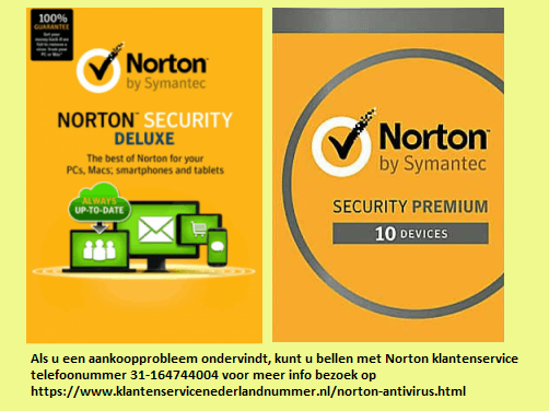 Pin Op Norton Klantenservice Nederland