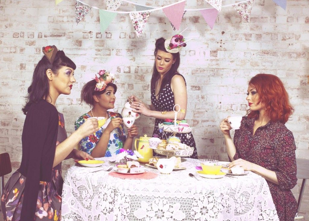 Sadia S Vintage Tea Party We Can Host Cakes And All That Is