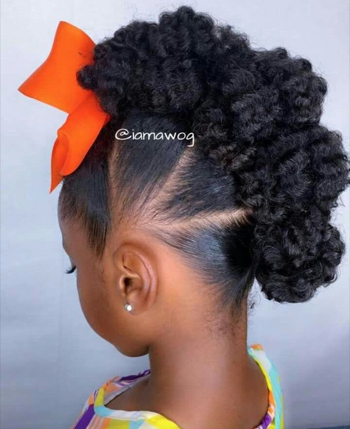 Natural Hairstyles For Kids, Kids