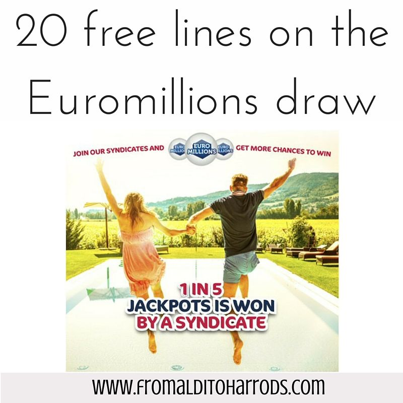 20 free lines on the Euromillions draw