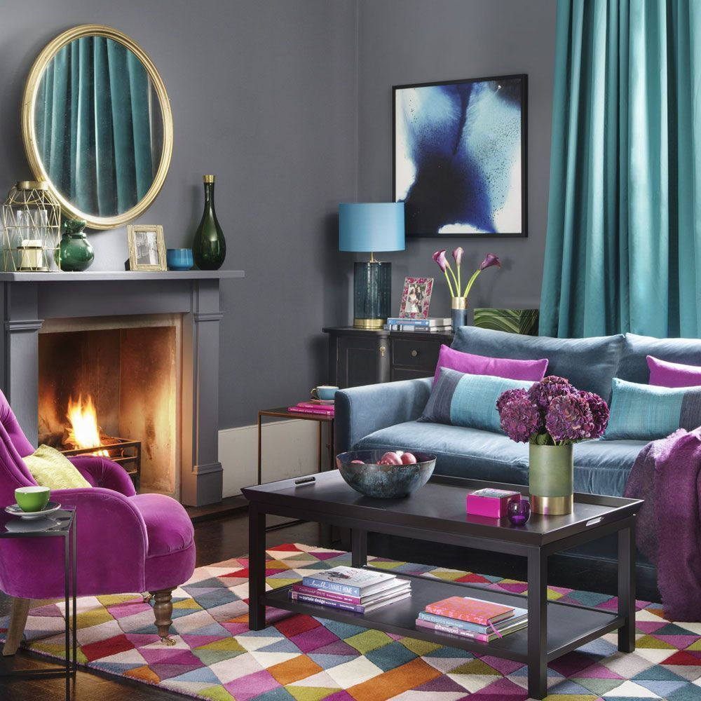 Feeling bold with your colour choices be inspired to fill your home