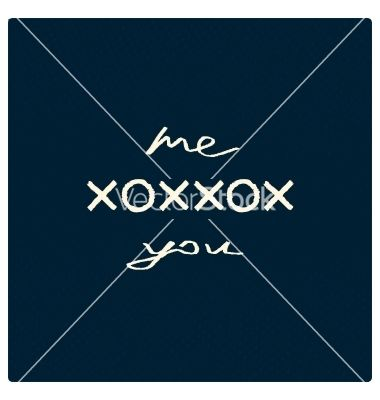 Me kiss and embrace you vector by mexico70 on VectorStock®