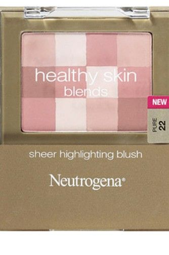 Highlight cheekbones with this product that comes in three different shades to allow blending, Neutrogena Healthy Skin Blends, $10.77, walmart.com