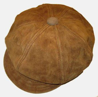 New York Hat and Cap Genuine Suede Leather Spitfire Apple Cap ... e92190aa2e10
