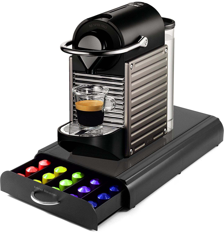 Nespresso C60 Pixie Electric Titan Automatic Espresso