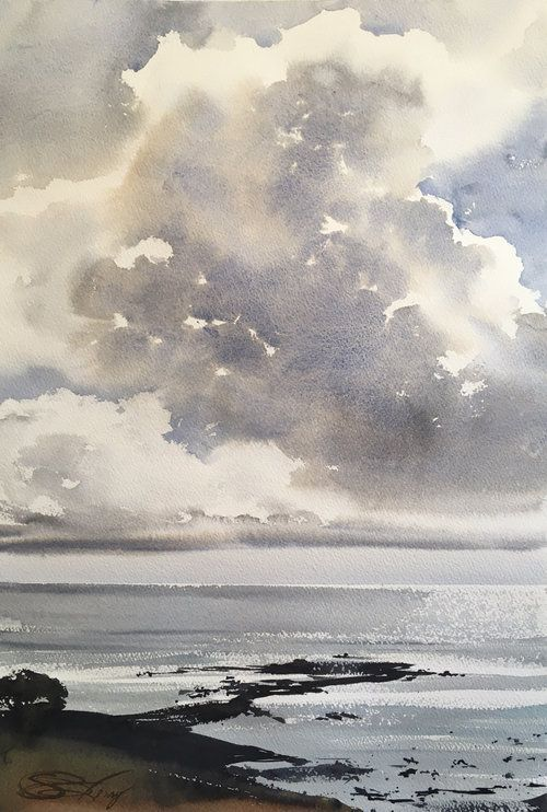 Ann Christin Moberg Watercolor Cerca De Google Peinture