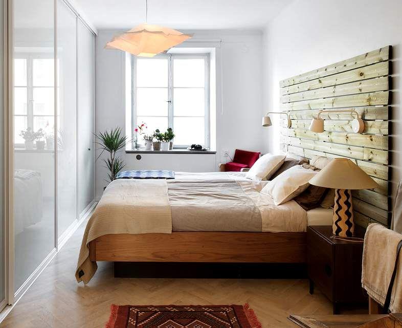 Cabecero de madera para el dormitorio dormitorio - Cabeceros de cama en madera ...
