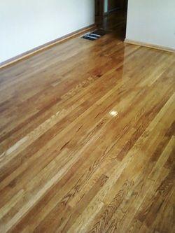 Golden Oak Stain Refinishing Hardwood Floors Red Oak