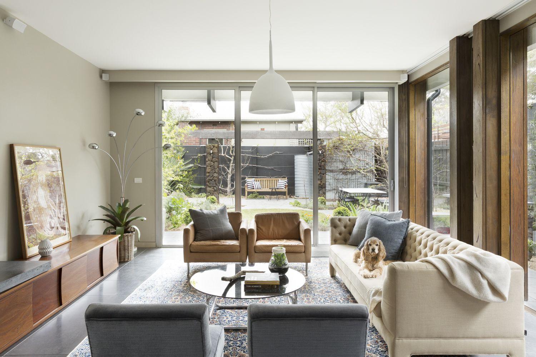 Interior designer melbourne clifton hill decorator living room design house ideas arthur  also rh pinterest