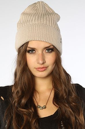 5aa470fcb62 The Dagny Knit Beanie in Stone by Goorin Brothers