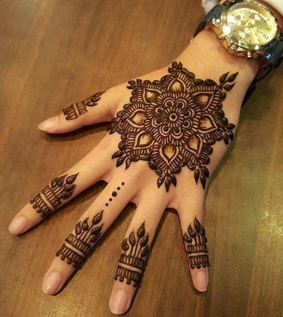 Best back hand mehndi designs also attractive rh pinterest