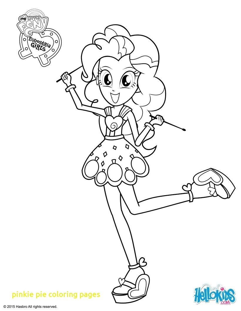 Pinkie Pie Coloring Pages With Equestria Girls For My Little Pony Coloring Coloring Pages For Girls New My Little Pony