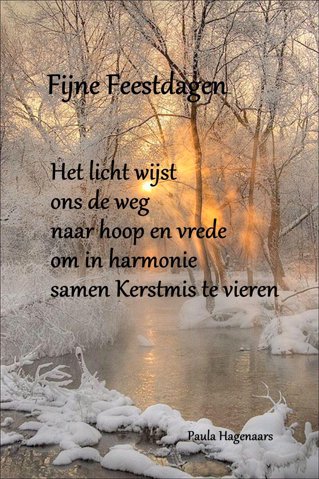 Niederländische Weihnachtsgedichte.Kerstmis Holländische Sprüche Sprüche