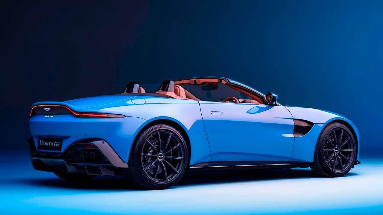 2021 Aston Martin Vantage Roadster The World S Fastest Convertible Roof In 2020 Aston Martin Vantage Aston Martin Aston