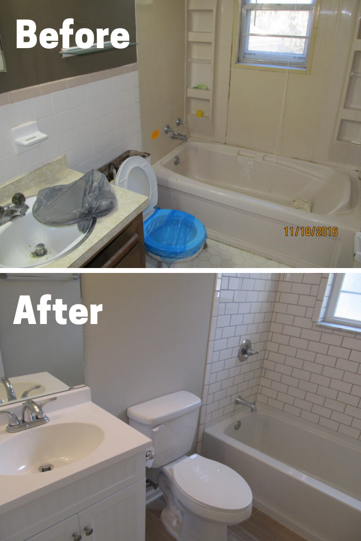 House Flipping Before and After images