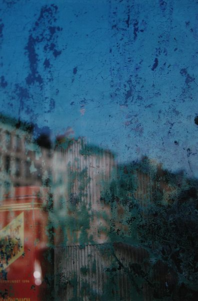 Saul Leiter, Window, New York, 1957. Courtesy Howard Greenberg Gallery, New York