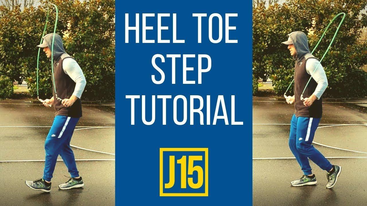 Heel toe jump rope skill tutorial with images jump