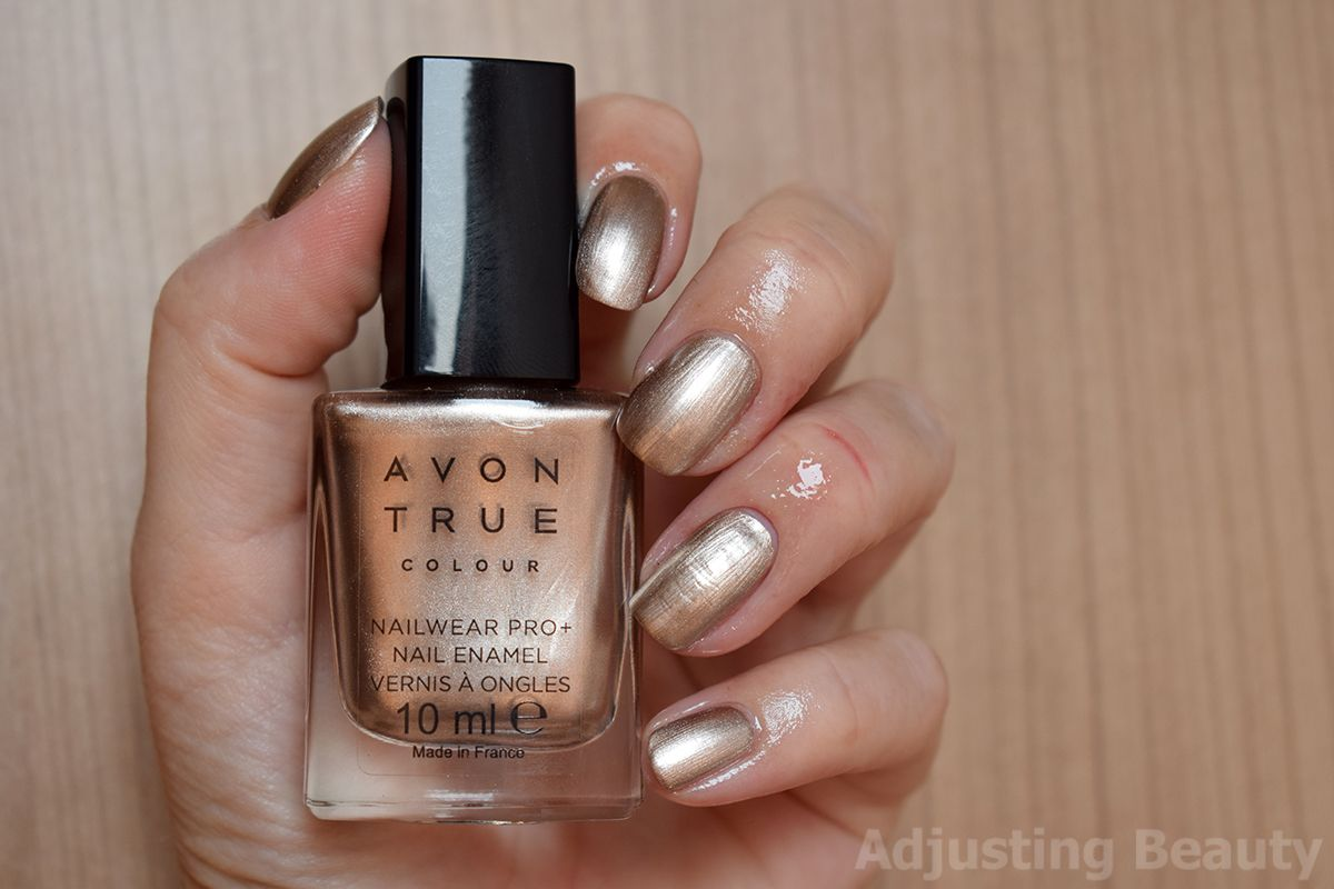 Review Avon True Colour Nailwear Pro Frosted Peach My Reviews