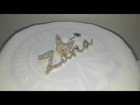 #P0916 #2.69Cts #10kGold14.300gms #Hiphopendant #hiphopjewelry #Persona...